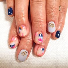 Proud of Michiko's peacock hand painted nail art  #nails #nailart #handpainted #peaco...   Use Instagram online! Websta is the Best Instagram Web Viewer!