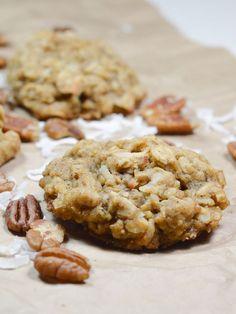 Oatmeal Coconut Pecan Cookies Recipe