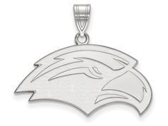 LogoArt Sterling Silver University Of Southern Misterling Silver Medium Pendant Necklace - Chain Included