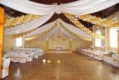 Wystrój sali weselnej - Oleszna
