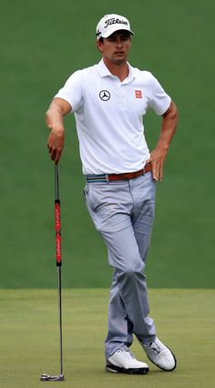 Adam Scott: The Best Dressed Man at the Masters 2013