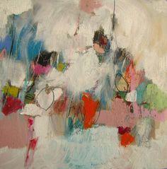 """Todos los viajes importes están delante de ti / Mary Ann Wakeley; Mixed Media, Painting """"Winter Voyage"""""""