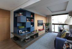 Cobertura - Pinheiros: Salas de estar Moderno por MANDRIL ARQUITETURA E INTERIORES