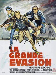 La Grande Évasion (The Great Escape) est un film américain de John Sturges sorti en 1963 d'après le récit de Paul Brickhill, avec dans les rôles principaux Steve McQueen, James Garner et Richard Attenborough entre autres.  Les faits décrits dans le livre dont le film est tiré sont intégralement vrais. Ils se basent sur l'évasion massive du Stalag Luft III à Sagan (maintenant Żagań, en Pologne), dans la province de Basse-Silésie.  Les personnages sont basés sur les vrais protagonistes de l'hi