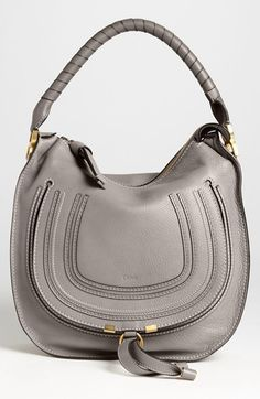 Chloé 'Medium Marcie' Leather Hobo available at #Nordstrom