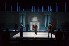 As You Like It. Two River Theatre Company. Scenic design by Brett J. Banakis.