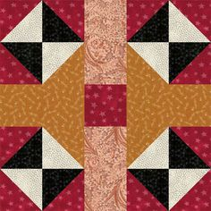 It's Fun to Experiment with Color and Contrast When You Sew These Blocks