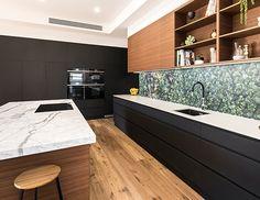 Italia Ceramics Adelaide's award-winning tile & stone showroom at 55 Glynburn Rd Glynde. Quality range of ceramic, porcelain & mosaic wall & floor tiles. Feature Tiles, Wall And Floor Tiles, Mosaic Wall, Kitchen Design, Kitchen Cabinets, Flooring, Greenery, Kitchens, Home Decor
