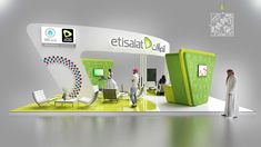 Etisalat Stand Design_special olympics abu dhabi 2018 on Behance