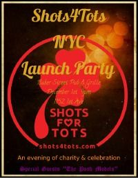 An Evening of Charity     The NYC Launch of Shots4Tots, Inc!