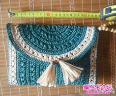 Crochet Case, Bag Crochet, Crochet Clutch, Crochet Pillow, Crochet Handbags, Tapestry Crochet, Crochet Purses, Free Crochet, Crochet Necklace