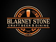 Another version of the Blarney Stone Pub Logo. They bypassed this version for something more simplistic, but I figured I'd show this one as well.