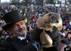 A brief history of Groundhog Day  Bring on Spring!!