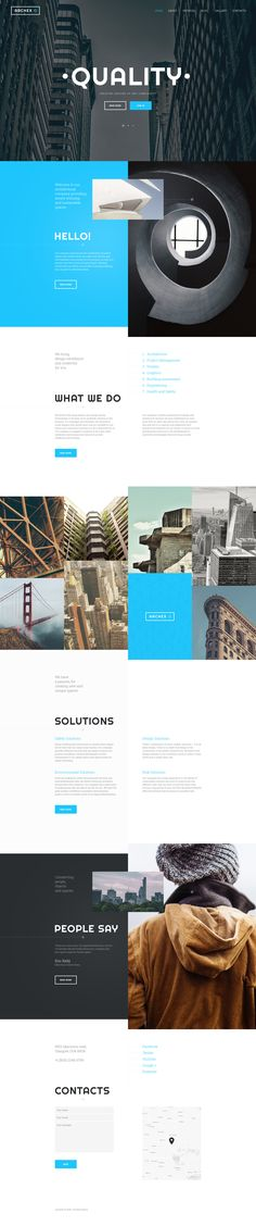 Architecture Responsive Website Template http://www.templatemonster.com/website-templates/architecture-responsive-website-template-57726.html