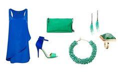 'Color block' de #Zara, #Blanco y @MANGO para tus noches de fin de semana
