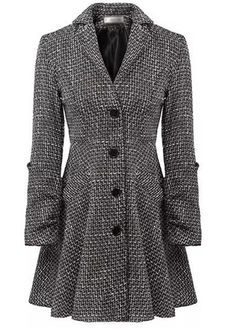 Trendy Single Breasted Long Sleeve Turndown Collar Woman Coat | Rosewe.com