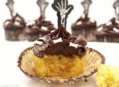 Cupcakes de calabaza con buttercream de cacao - MisThermorecetas.com