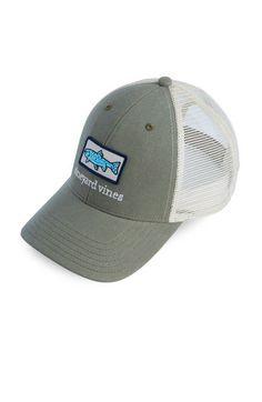 21d8a05c4f4f2 Trout Patch Trucker Hat Custom Big Rigs
