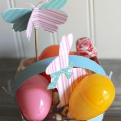 Sizzix Inspiration | Easter Egg Baskets by Jessica Roe