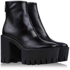 STELLA McCARTNEY Ankle boots (22,095 MXN) ❤ liked on Polyvore featuring shoes, boots, ankle booties, chunky booties, vegan booties, chunky platform booties, ankle boots and short boots