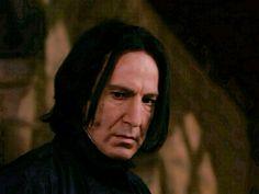 MOVIE 1 PIX: snapemaniac0010 Snape Harry Potter, Harry Potter Characters, Alan Rickman Severus Snape, Severus Rogue, Love Me Harder, Half Blood, Fangirl, Prince, Films