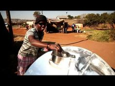 Using coal and kerosene to fuel a stove is both costly and hazardous. Social entrepreneur Crosby Menzies hopes it will become a thing of the past in Africa. He rolled out his solar cooker, a satellite-dish shaped oven that uses sunlight to cook meals, in the Johannesburg township of Soweto.