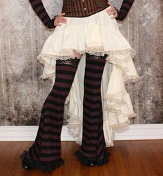 Hey, I found this really awesome Etsy listing at https://www.etsy.com/listing/181725705/belladonna-steampunk-high-low-ruffle