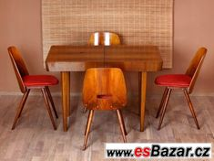 Prodám retro jídelní set.., Tábor, Retro 1, Dining Chairs, Furniture, Home Decor, Decoration Home, Room Decor, Dining Chair, Home Furnishings, Arredamento