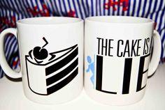 Portal / Portal 2 Game Mug - The Cake Is A Lie