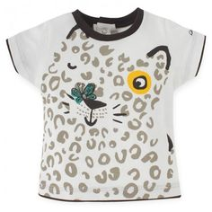 Catimini Gingham Shorts & Cat Print Tee: