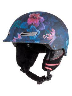 roxy, Power Powder Snow Helmet, HAWAIIAN TROPIK_PARADISE PINK (mlr6)