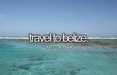 Inspiring picture before i die, belize, blue, bucket list, perfectbucketlist. Find the picture to your taste! Vacation Destinations, Dream Vacations, Belize Barrier Reef, Bucket List Before I Die, Terence Hill, Favim, Places To See, Beautiful Places, At Least