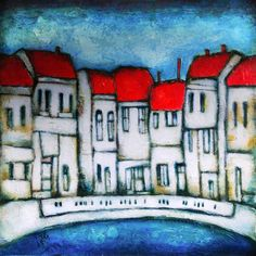 Cityscape - Abstract art paintings