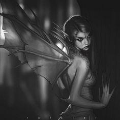 Dark Fairy, made by Rafael Teruel