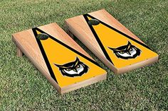 Kennesaw State Cornhole Game Set Hardcourt Triangle Version ** Want additional info? Click on the image.