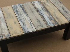 This DIY project combines two popular decorating trends into one fun table. Furniture made from pallets, or other reclaimed wood, is very chic right now, and stenciling is making its own comeback. Follow the tutorial for building a simple accent table and then customizing it with paints and stencils!