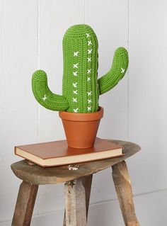 PLUSH KNIT CACTUS CUSHION | Simons #maisonsimons #bohome #bohemian #decor…