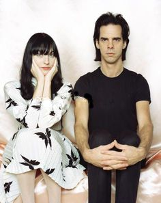 Cool couple - Nick Cave and his very pretty wife