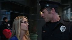 Felicity & Quentin  from Arrow 2x01 'City of Heroes'