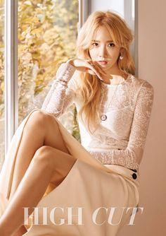 SNSD's Yoona for High Cut Korea Vol. 155. Photographed by Choi Mun Hyeok