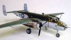North American B-25C by Tony Bell (Accurate Miniatures 1/48)