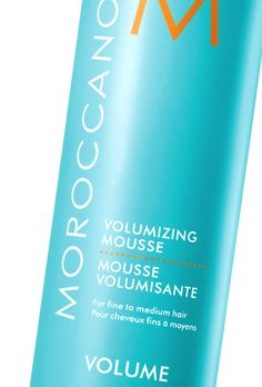 Sometimes I'm embarrassed to admit that I use mousse. It brings to mind crunchy curls from the 80's, right? But mousse has come a long way, and today's versions let me create soft, volumized, wavy texture. (I rough dry my hair and then use a curling iron to define large sections -- the mousse gives me hold.) This one from Moroccanoil is amazing. It's silky, moisturizing, and anything but stiff -- basically the antithesis of mousse from 30 years ago.