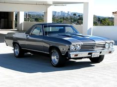 1968 Chevrolet El Camino Maintenance/restoration of old/vintage vehicles: the material for new cogs/casters/gears/pads could be cast polyamide which I (Cast polyamide) can produce. My contact: tatjana.alic@windowslive.com