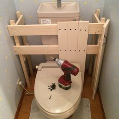 タンクレス DIY/タンクレス風/トイレ改造計画/DIY/バス/トイレのインテリア実例 - 2016-01-25 12:59:54 | RoomClip(ルームクリップ)