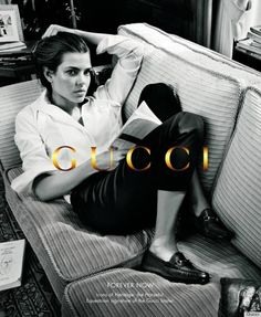Inez and Vinoodh captured royal equestrian and model Charlotte Casiraghi, 25, for Gucci's new Forever Now advertisement.