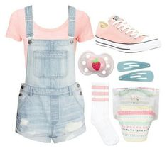 ddlg -daddy said he wanted to buy me an outfit like this! Daddys Little Princess, Daddy Dom Little Girl, Daddys Girl, Little Girl Outfits, Baby Boy Outfits, Cute Outfits, Kawaii Fashion, Cute Fashion, Fashion Outfits