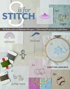 S is for Stitch by Kristyne Czepuryk for StashBooks