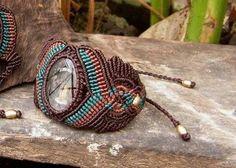 Miss Gypsy Amazing brown macrame bracelet with by 420missgypsy