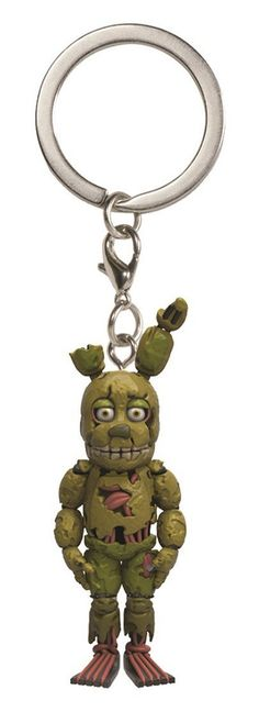 """Five Nights at Freddy's 1.5"""" Character Keychain: Spring Trap"""
