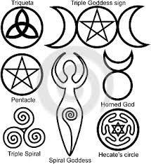 Image result for wiccan symbols